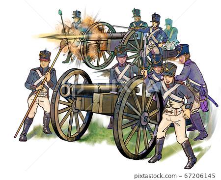拿破崙時代的砲兵 67206145
