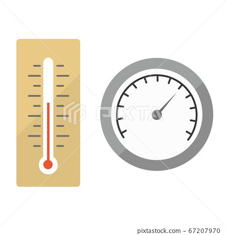 溫度計和濕度計 67207970