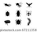 插图集的害虫剪影 67211358