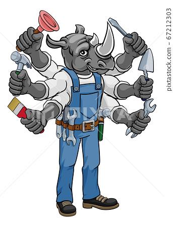 Rhino Multitasking Handyman Holding Tools 67212303