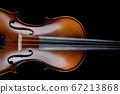 Violin Black Background 67213868