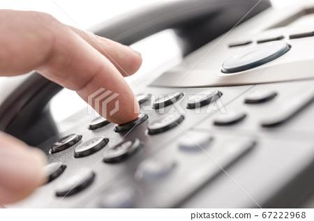 Telephone keypad detail 67222968