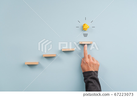 Idea, innovation and vision conceptual image 67223073