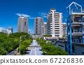 《东京》台场和大厦大厦的风景 67226836