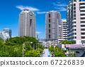 《东京》台场和大厦大厦的风景 67226839