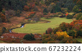 Picturesque mountain valley in indian summer 67232224