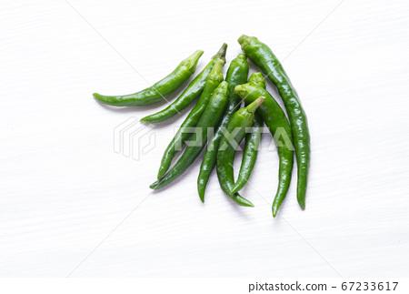 新鮮的夏季蔬菜青椒 67233617