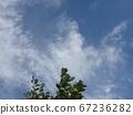 장마가 이어지면서 잠시 맑은 하늘 67236282
