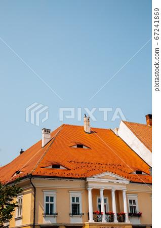 Old traditional house in Sibiu, Romania 67241869