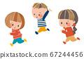 奔跑的孩子 67244456