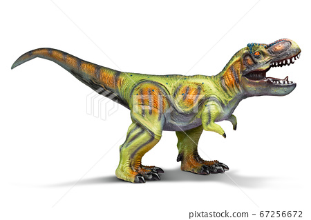Dinosaur toy isolated 67256672