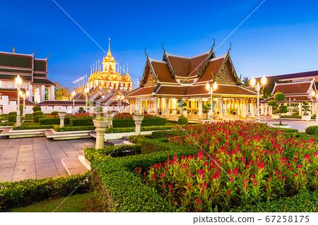 Wat Ratchanatdaram Temple in Bangkok 67258175