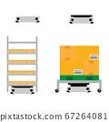 搬運行李的運輸機器人 67264081