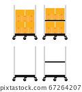 帶行李箱和不帶行李箱的六輪小車 67264207