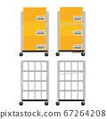 帶和不帶行李的推車 67264208