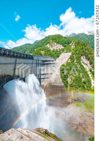초여름의 구로베 댐 67265932