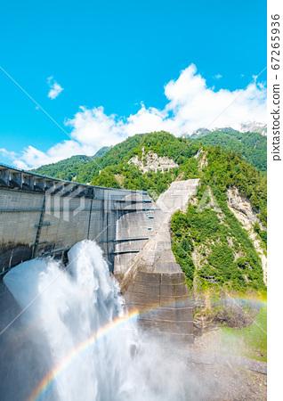 초여름의 구로베 댐 67265936