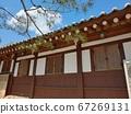Korean meaning, Korean landscape, Hanok, Korean image, Hanok landscape, Hanok image, tile house, stone wall, jar, Jangdok, traditional architecture 67269131