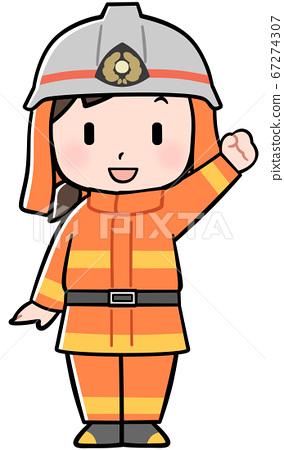 消防員女孩 67274307