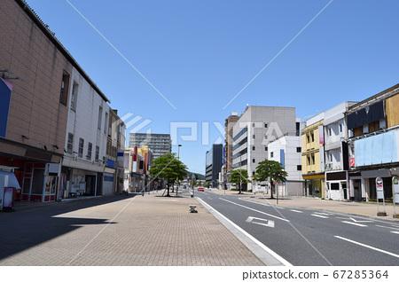 군마현 오타시의 환락가 (南一番 거리) 67285364