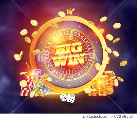 The word Big Win 67296510
