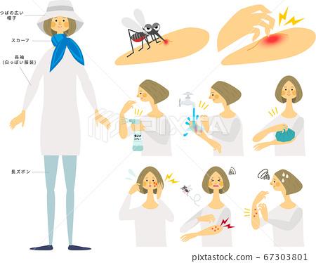 防蚊蟲叮咬 67303801