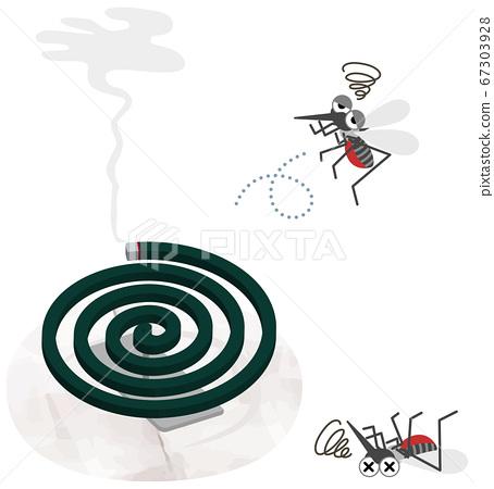 蚊香弱蚊的插圖 67303928