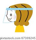 페이스 실드 페이스 가드 여성 67309245