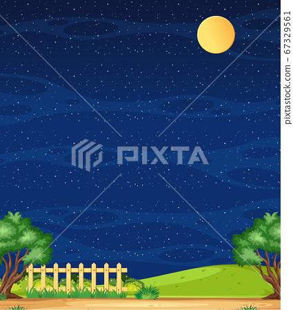 Vertical nature scene or landscape countryside 67329561