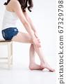 穿短裤的女人 67329798