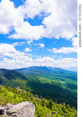 초여름의 蓼科山 등산 : 여자 乃神 찻집 (蓼科山 등산로 입구) 코스의 풍경 67331002