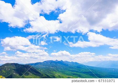 초여름의 蓼科山 등산 : 여자 乃神 찻집 (蓼科山 등산로 입구) 코스의 풍경 67331071