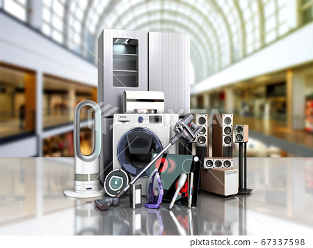 Home appliances  E commerce or online shopping 67337598