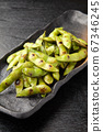 Grilled edamame 67346245