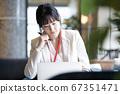 여성 비즈니스 현장 67351471
