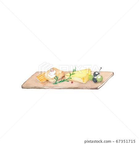 開胃拼盤,材料 67351715
