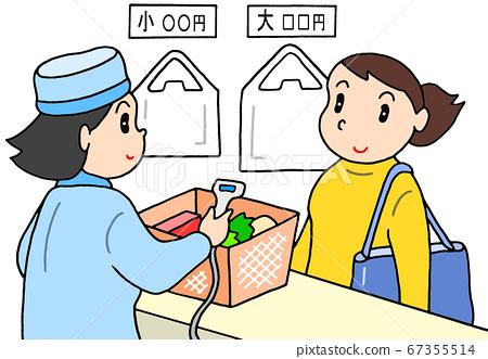 비닐 봉투 유료화와 내 가방 지참 67355514