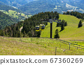 Beautiful view from the Mountain (Belchen) near 67360269
