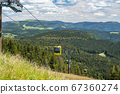 Beautiful view from the Mountain (Belchen) near 67360274