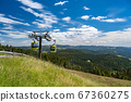 Beautiful view from the Mountain (Belchen) near 67360275