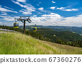 Beautiful view from the Mountain (Belchen) near 67360276