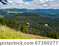 Beautiful view from the Mountain (Belchen) near 67360277