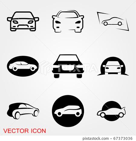 Auto icon. Car icon Vector Illustration, 67373036