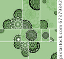 Beautiful mandala design background 67379342