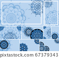 Beautiful mandala design background 67379343