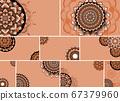 Beautiful mandala design background 67379960