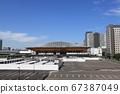 올림픽 · 패럴림픽에서 체조 · 신체조 · 보차 등이 열린다 아리아케 체조 경기장의 외관 67387049