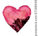心臟被疾病侵蝕的形象 67388048