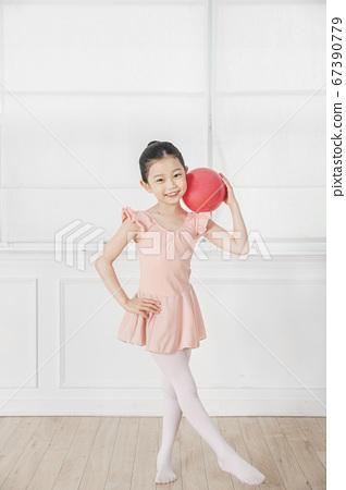 Happy children concept, a portrait of asian children smiling 420 67390779