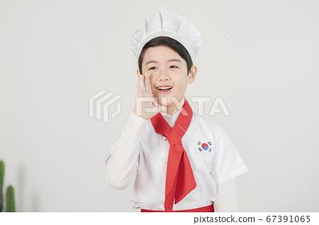 Happy children concept, a portrait of asian children smiling 340 67391065